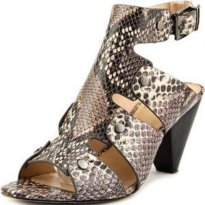 Vince Camuto Ekerd snakeskin Sandals